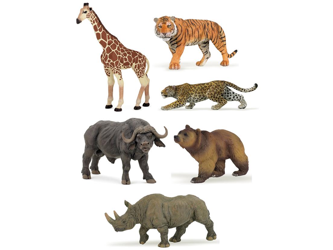 Krabat Se Mini Papo Wild Animals 2