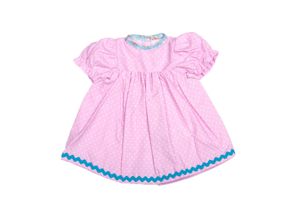 Dolls Dress 'Baby' pink (30 cm)