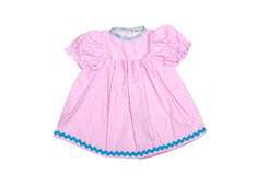 Dolls Dress 'Baby' pink (30 cm)