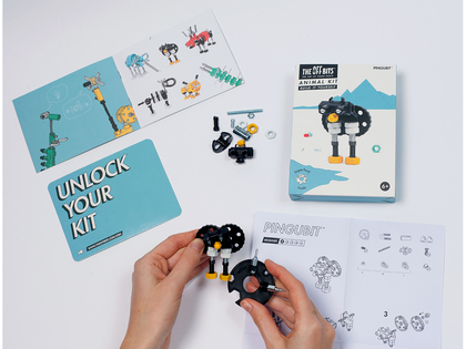 Bygg en pingvin 'Pengubit'