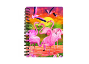Notebook 3D Flamingo Lingo (small)