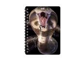 Notebook 3D Cobra small