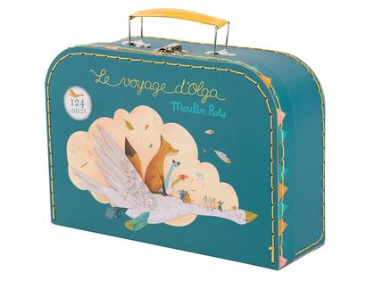 Pussel 'Le Voyage d'Olga' i väska