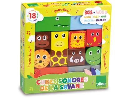 Blocks with sound 'Safari'