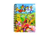 Notebook 3D Butter Flutter (small)