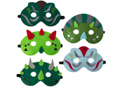 Mask 'Dinos' assorted