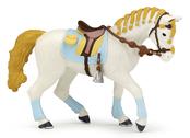 Ryttare Häst blue