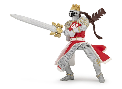 Dragon King with Sword red