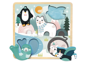 Puzzle touch 'Snow animals' Michelle Carlslund