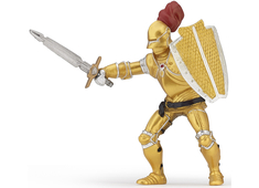 Knight in Golden Armor