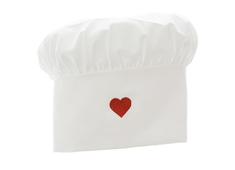 Chef hat Heart
