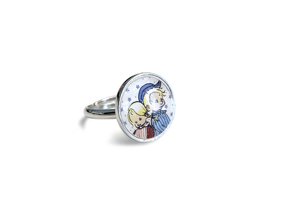 Rings 'Emil & Ida'
