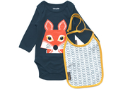 Body & Bib Organic 'Fox'