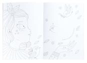 Coloring book 'Les Parisiennes'