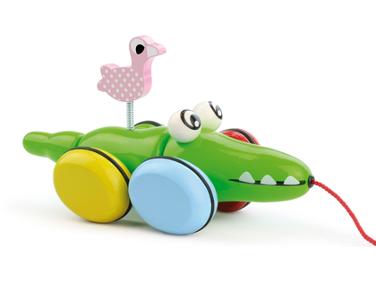 Pull Toy 'Croc & Odile'