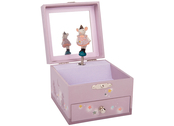 Musical box 'Il Etait une Fois' with jewelry case