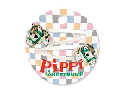 Hairclips 'Pippi's horse'