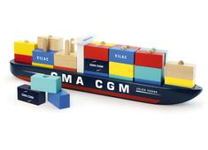 Stacker Cargo Ship
