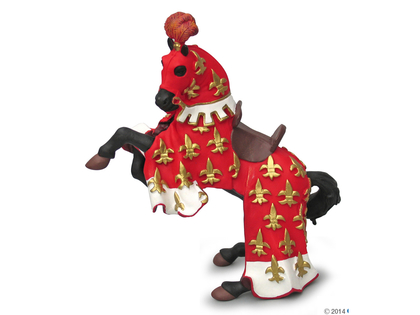 Prins Philip Häst röd