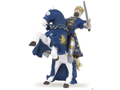 King Richard Horse blue