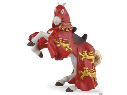 King Richard Horse red