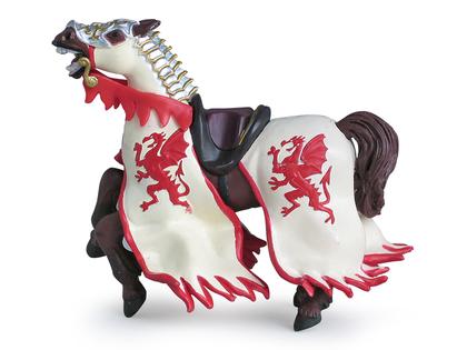 Drakkungen Häst röd