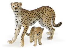 Gepard med Unge