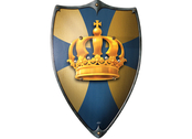 Shield large 'Crown'