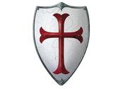 Shield large 'Cross'