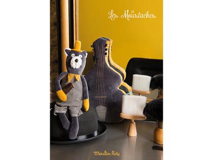 Ficklampa med berättelser 'Les Moustaches'