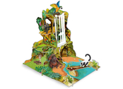 Jungle landscape model kit