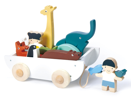 Wagon with animals