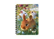 Notebook 3D Bunnies (small)