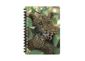 Anteckningsbok 3D Leopardunge (liten)