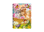 Notebook 3D Kitten Fun Time (small)
