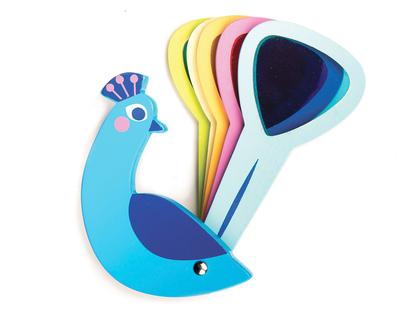 Lek 'Påfågel färglek'