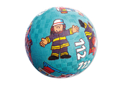Ball rubber 'Fireman' small
