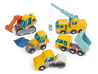 Cars 'Construction' 5 pcs